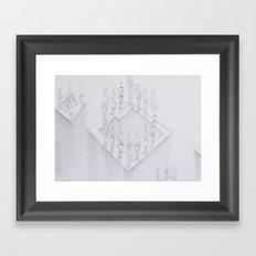 Whiteout II Framed Art Print