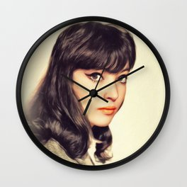 Anna Karina, Actress Wall Clock