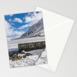 Weir At Ogwen Lake Stationery Cards