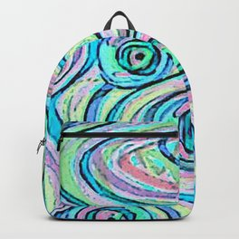 Zakiaz Peacock Swirl Backpack