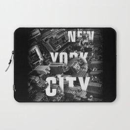 New York City streets Laptop Sleeve