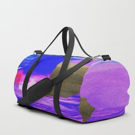 Waves Collage Duffle Bag