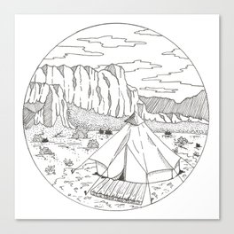 Yurt Dreams Canvas Print
