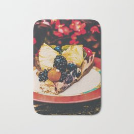 Fruit Cake Bath Mat