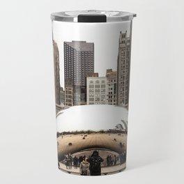 Cloud Gate / The Bean Chicago Travel Mug