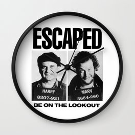 Wet Bandit Escape Wall Clock