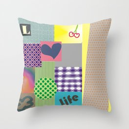 geometrico Throw Pillow