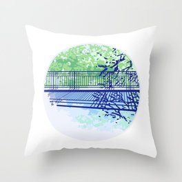 Puddle Throw Pillow