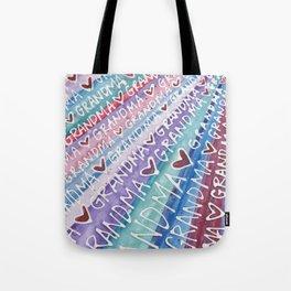 Grandma Love Tote Bag