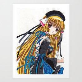Chobits Freya Art Print