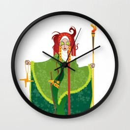 St. Brigid of Ireland Wall Clock