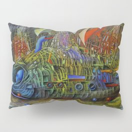 Fish-ship Pillow Sham