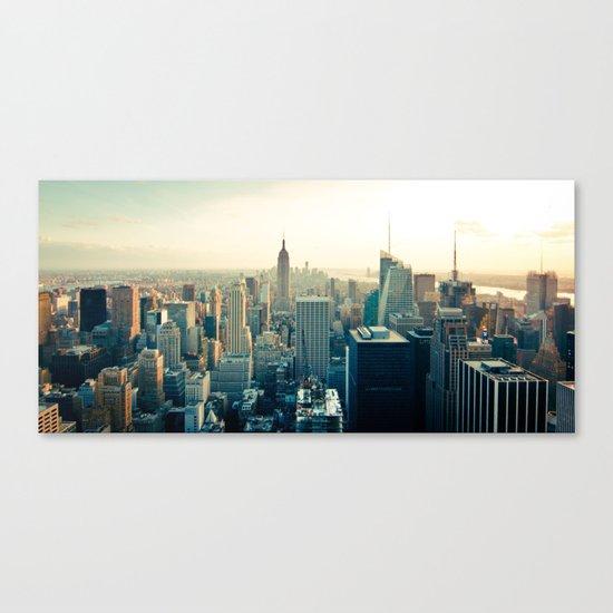 Good Evening New York City Canvas Print