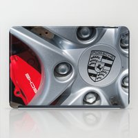 porsche iPad Cases featuring Porsche Wheel by SShaw Photographic