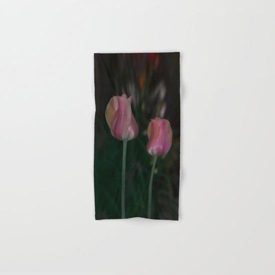 Twin Tulips  Hand & Bath Towel