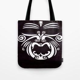 Tribal Mask Tote Bag