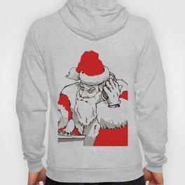 Merry Christmas DJ Santa Nonstop Remix Hoody