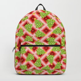 Polka Dot Op Art Chrismas Backpack