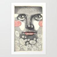 Observe Art Print