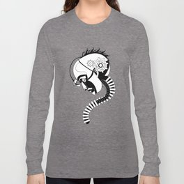 Reflecting Cyborg Long Sleeve T-shirt
