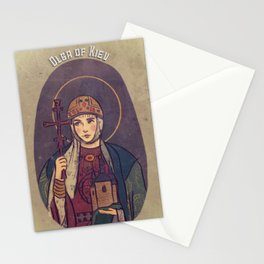 Olga of Kiev Stationery Cards