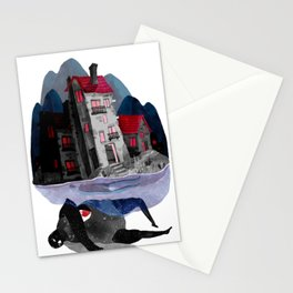 grave Stationery Cards