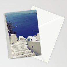 Santorini Stairs II Stationery Cards
