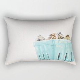 Mi cesta turquesa. Rectangular Pillow
