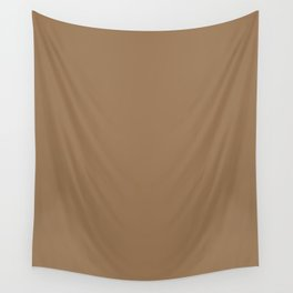 Pale Brown Wall Tapestry