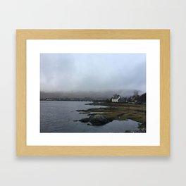 Home in the Skye Framed Art Print