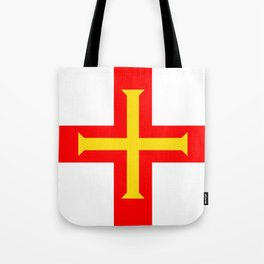 Guernsey country flag Tote Bag