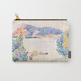 Cap Nègre by Henri-Edmond Cross 1909, French Carry-All Pouch