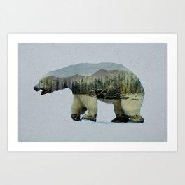 The Polar Bear Art Print