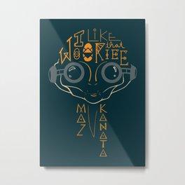 Maz Kanata Metal Print