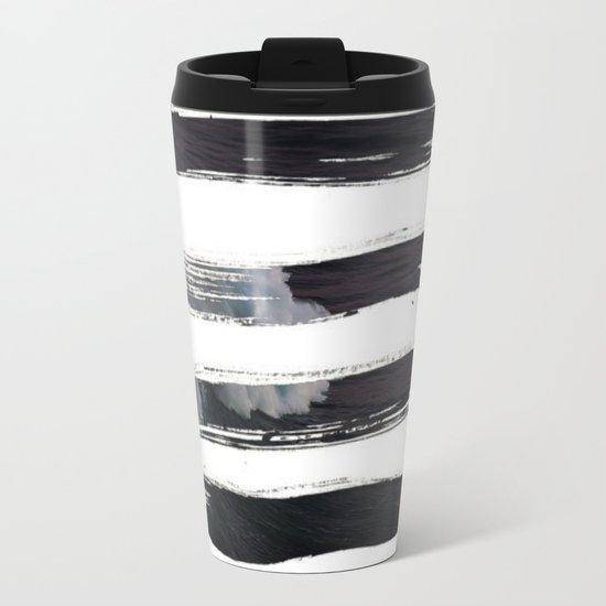 Paint it black Metal Travel Mug