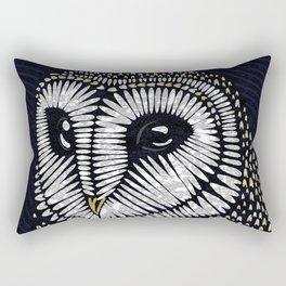 Barn Owl print Rectangular Pillow