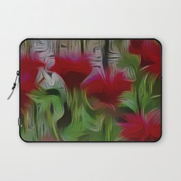 Fanciful Scarlet. Red Balm Laptop Sleeve