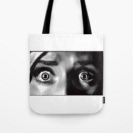 Eyes Terror Tote Bag