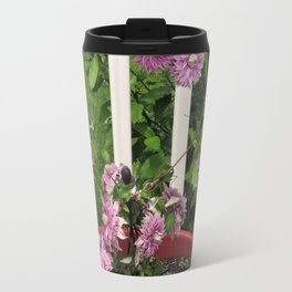 Clematis Josephine Travel Mug