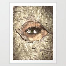 Look 3 Art Print