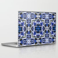 cracked Laptop & iPad Skins featuring Cracked by Lachlan Willis