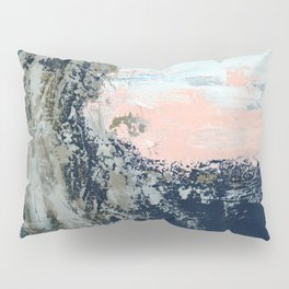 Silver Splash Pillow Sham