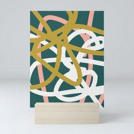 Abstract Lines 02B Mini Art Print
