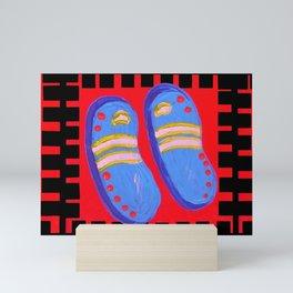 Flip Flops Times Three Mini Art Print