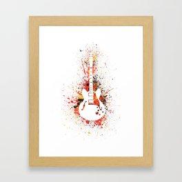 Guitar Heroes - Chuck Berry  Framed Art Print