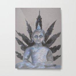Seated Buddah Metal Print