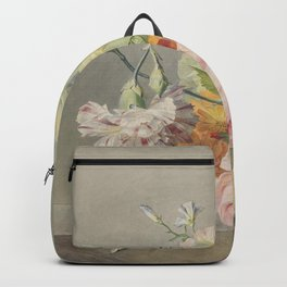 Georgius Jacobus Johannes van Os - Flower arrangement - 1800/1825 Backpack