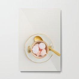 Mini meringue kisses Metal Print