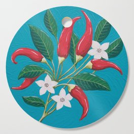 Red Hot Chilli Peppers Cutting Board