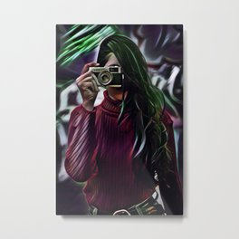 Smile... You Are On Candid Camera Metal Print
